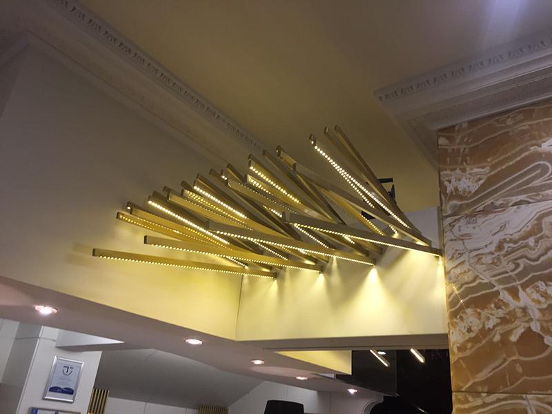 Lámpara Hotel Ciudad de Vigo